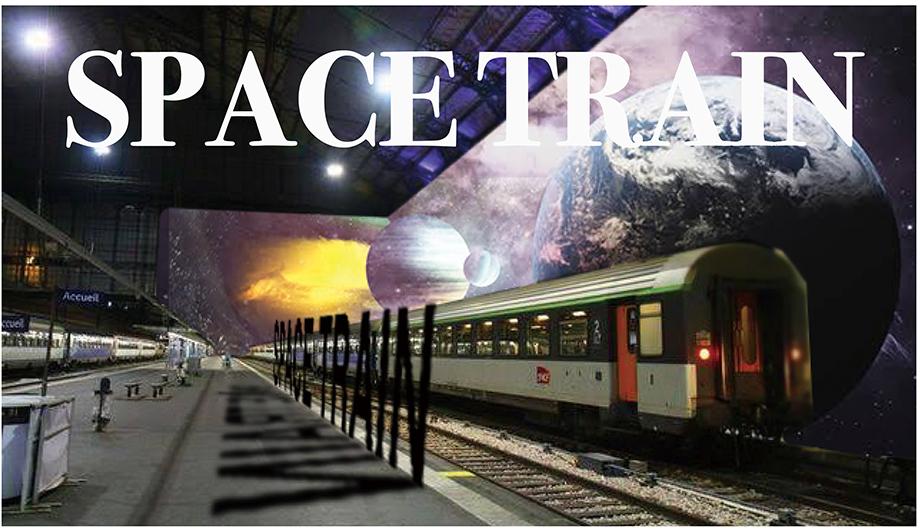 スペーストレイン、宇宙、電車、SPACETRAIN